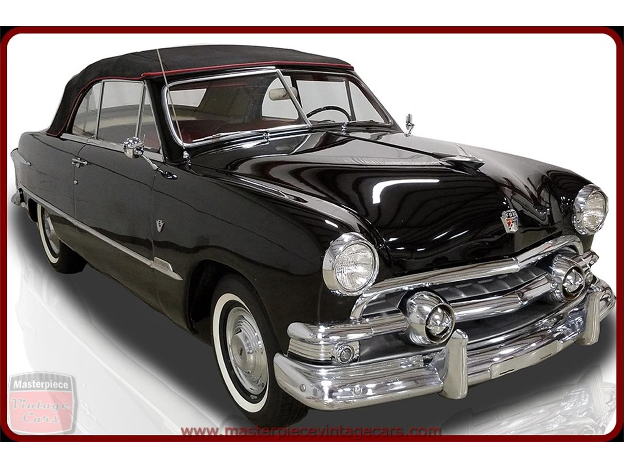 Large Picture of '51 Ford Convertible located in Whiteland Indiana - $39,900.00 Offered by Masterpiece Vintage Cars - KAMX