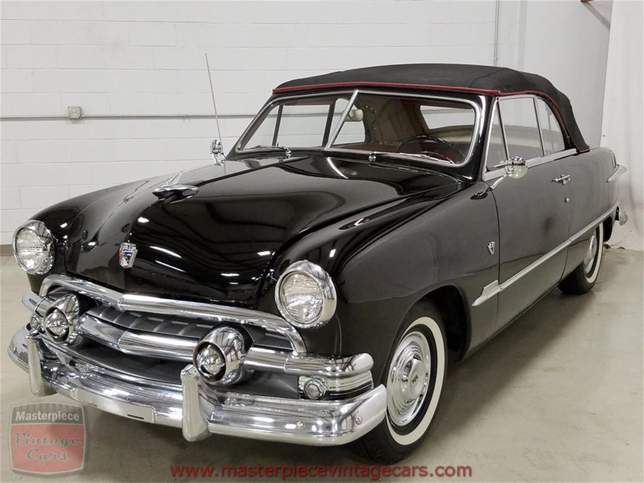 Large Picture of 1951 Ford Convertible located in Whiteland Indiana - $39,900.00 Offered by Masterpiece Vintage Cars - KAMX
