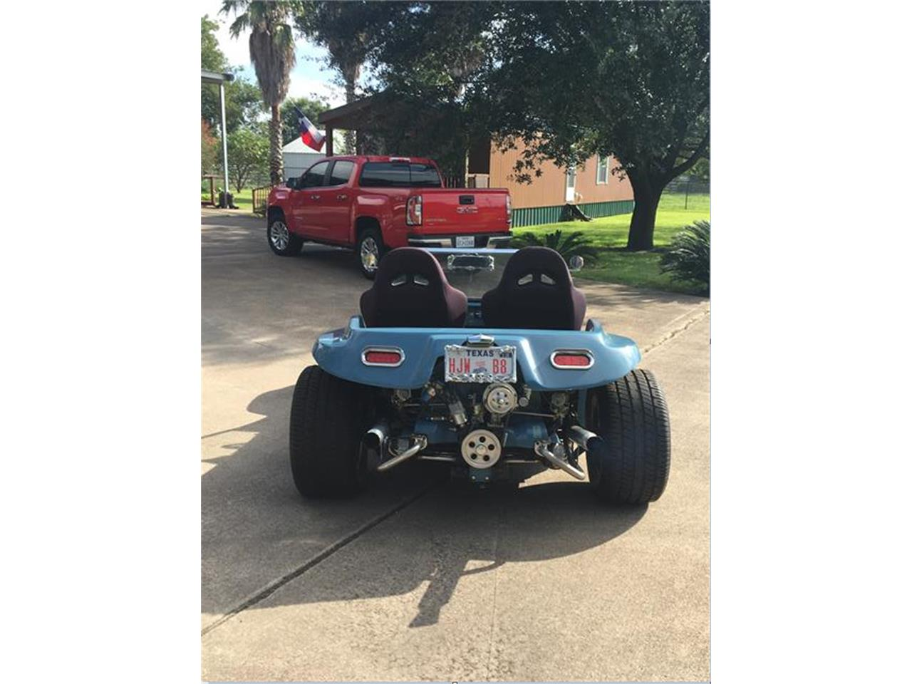 Large Picture of Classic '71 Volkswagen Dune Buggy located in Crosby Texas Offered by a Private Seller - KBC2