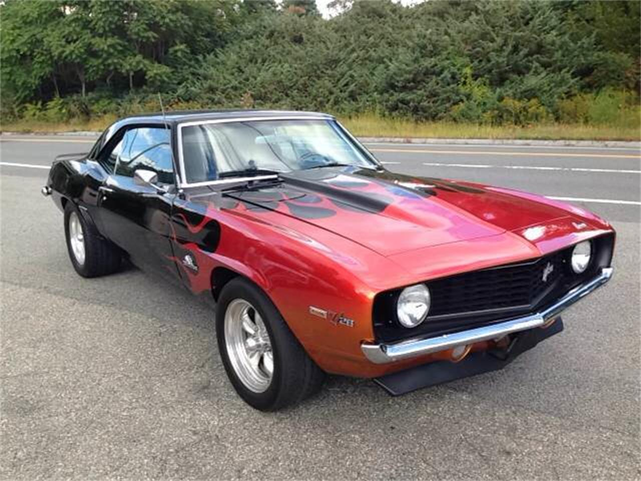 Large Picture of Classic 1969 Camaro Z28 located in Westford Massachusetts - $55,995.00 - K60I