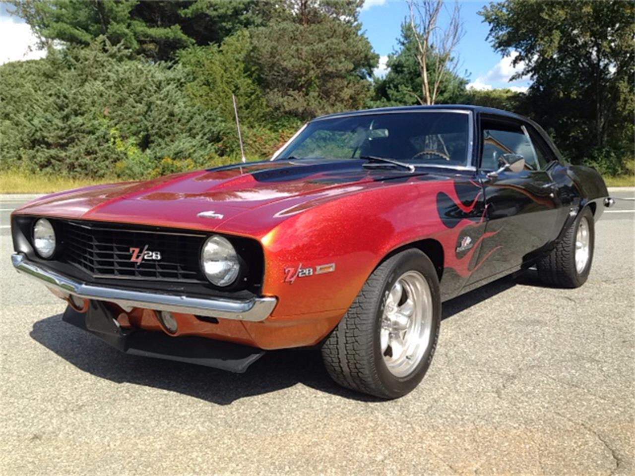 Large Picture of Classic 1969 Chevrolet Camaro Z28 located in Massachusetts - K60I