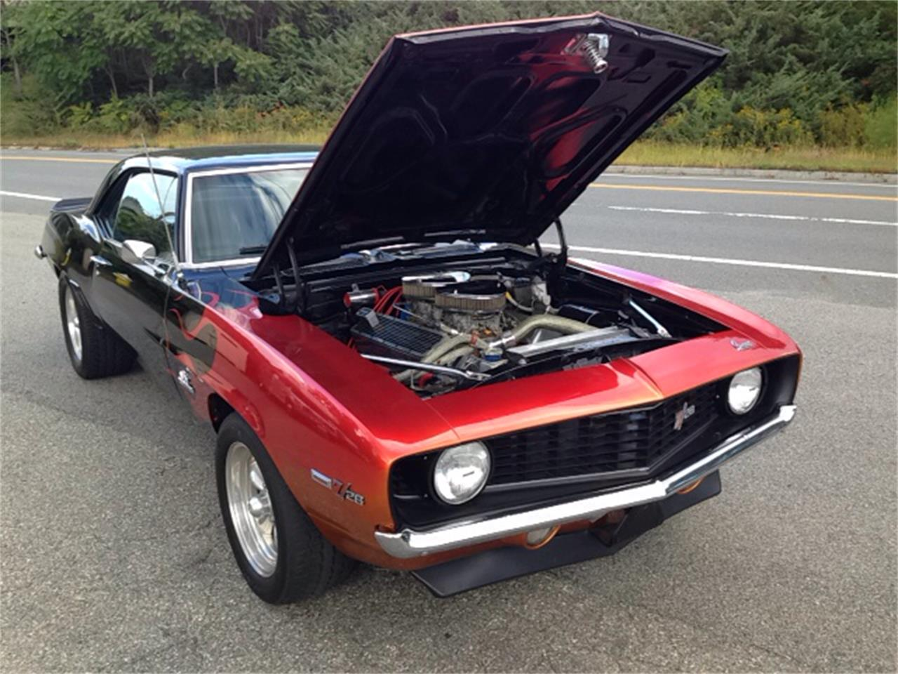 Large Picture of Classic '69 Chevrolet Camaro Z28 located in Massachusetts - K60I