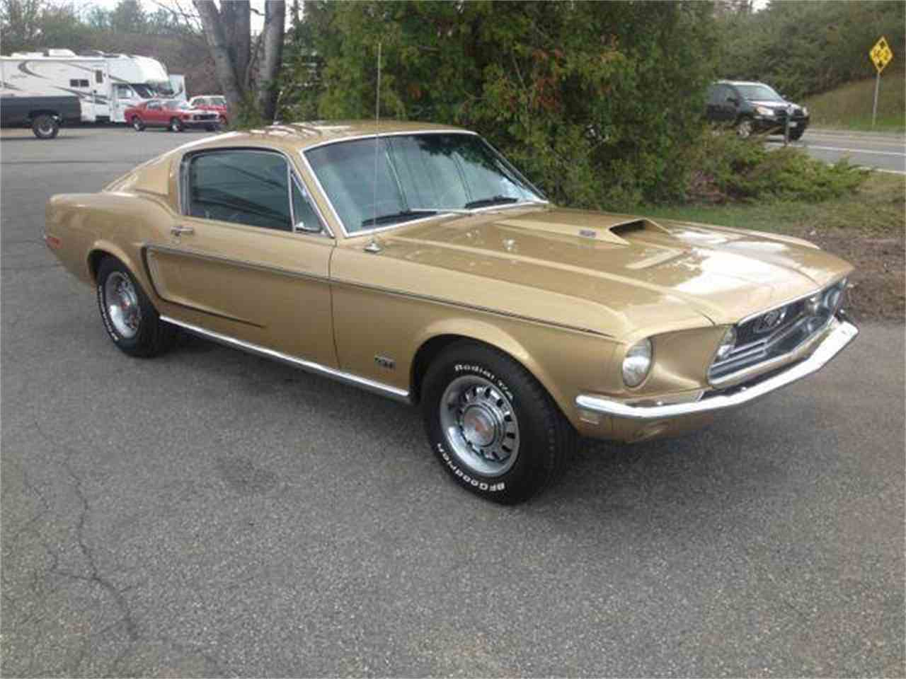 Large Picture of '68 Mustang GT - K60R