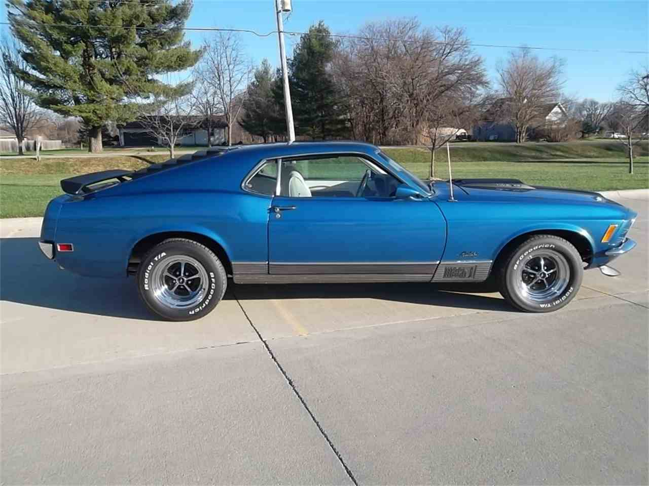 Large Picture of Classic '70 Ford Mustang Mach 1  located in Iowa - $35,500.00 - KCJ1
