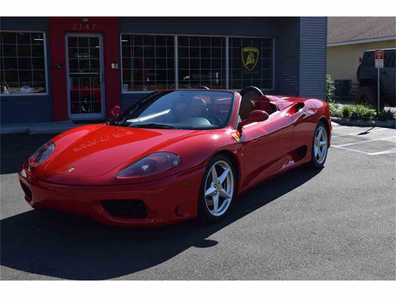 Large Picture of 2004 Ferrari 360 - KCL8