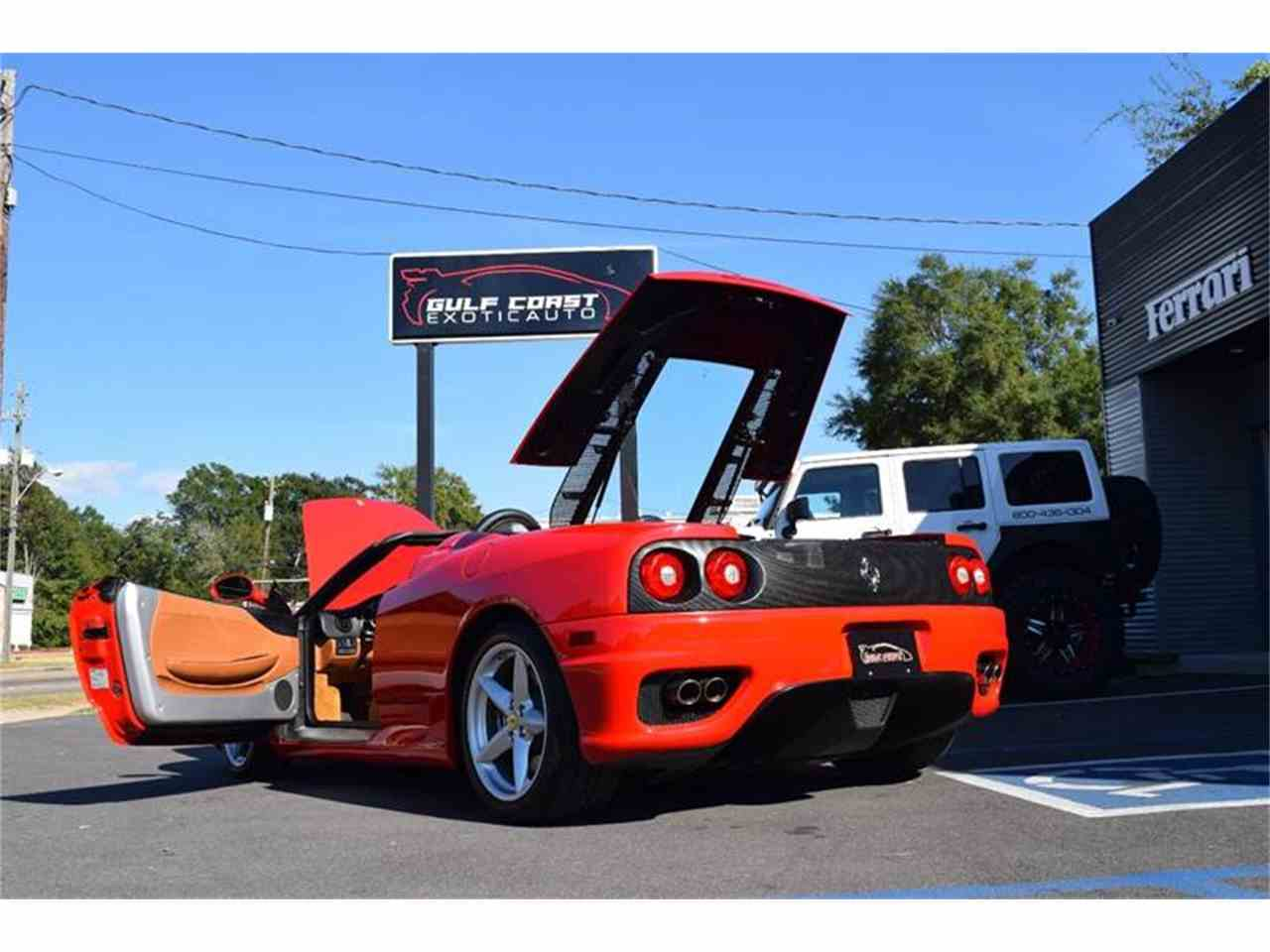 Large Picture of 2004 Ferrari 360 located in Biloxi Mississippi Offered by Gulf Coast Exotic Auto - KCL8