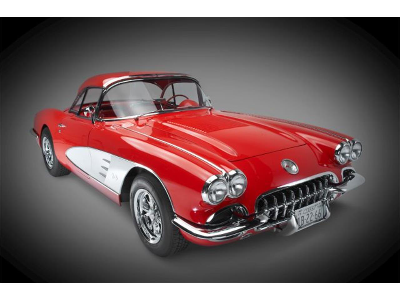 Large Picture of 1958 Corvette located in Cadillac Michigan - KCRC