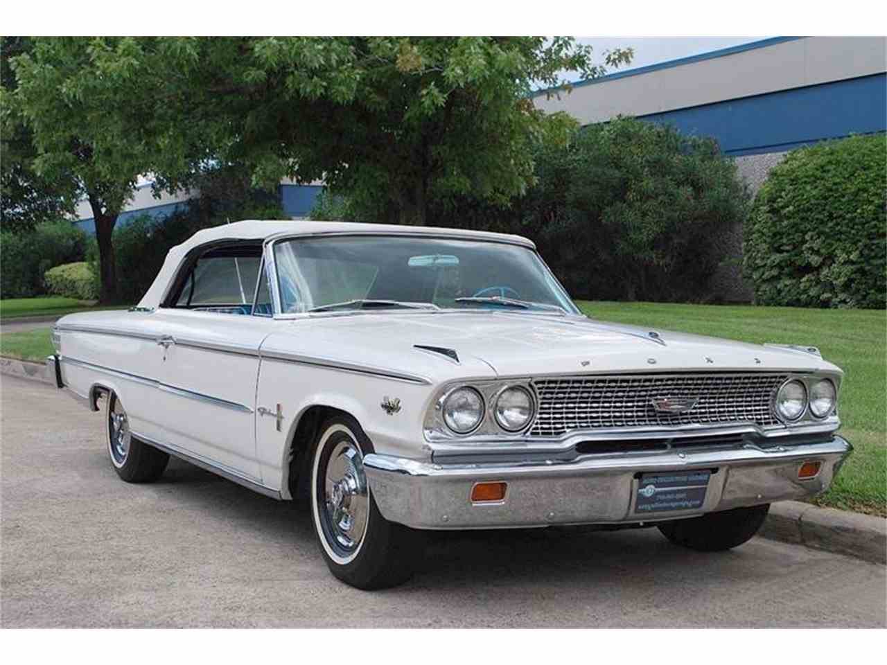 1963 Ford Galaxie 500 Xl For Sale