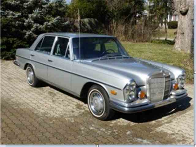 1972 mercedes benz 280se for sale on. Black Bedroom Furniture Sets. Home Design Ideas