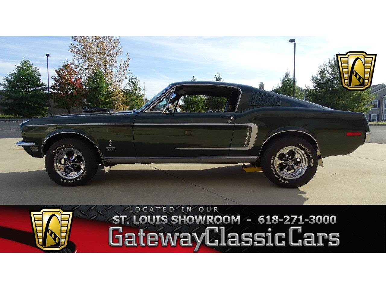 Large Picture of 1968 Ford Mustang located in O'Fallon Illinois - $74,000.00 Offered by Gateway Classic Cars - St. Louis - KDWO