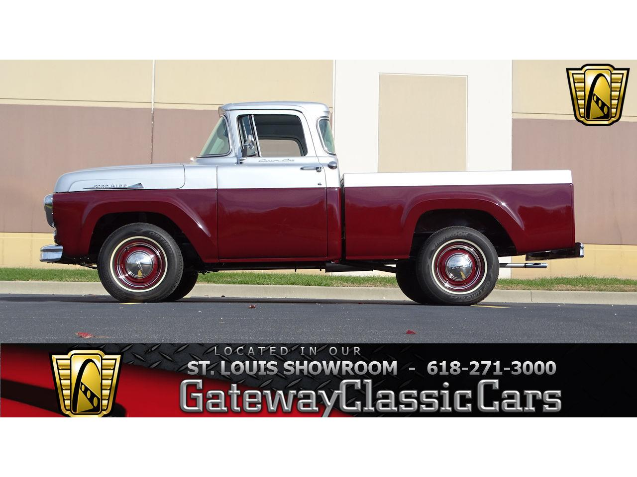 1958 Ford F100 For Sale Cc 951202 1955 Truck Parts Large Picture Of 58 Kdya