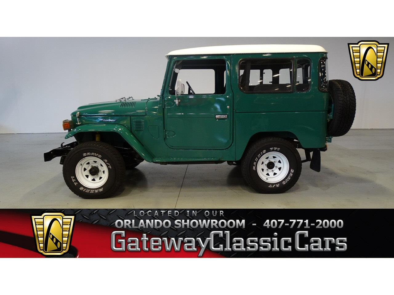 Large Picture of 1978 Toyota Land Cruiser FJ located in Lake Mary Florida Offered by Gateway Classic Cars - Orlando - KE19