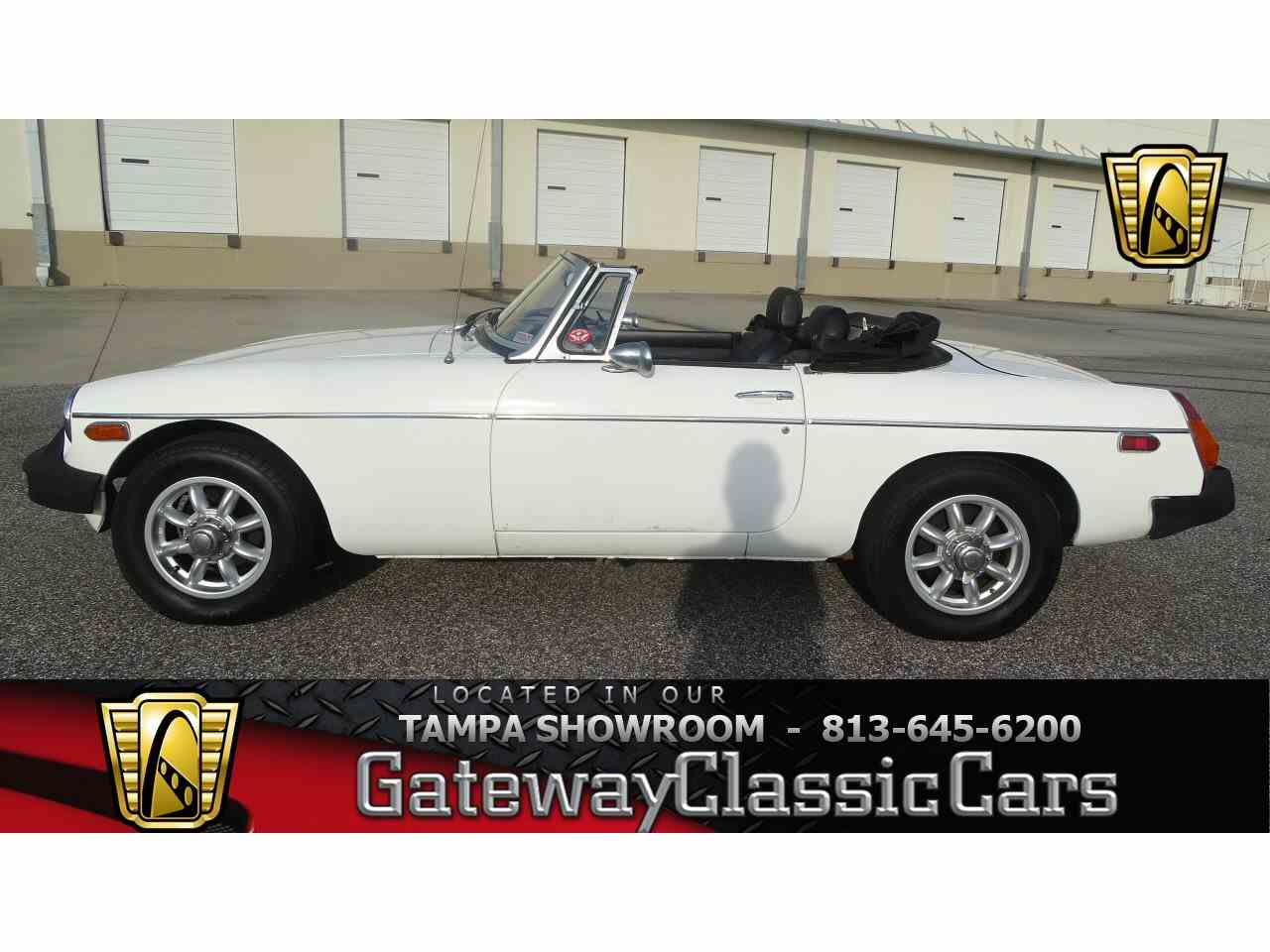 Large Picture of 1977 MG MGB located in Ruskin Florida Offered by Gateway Classic Cars - Tampa - KE1K