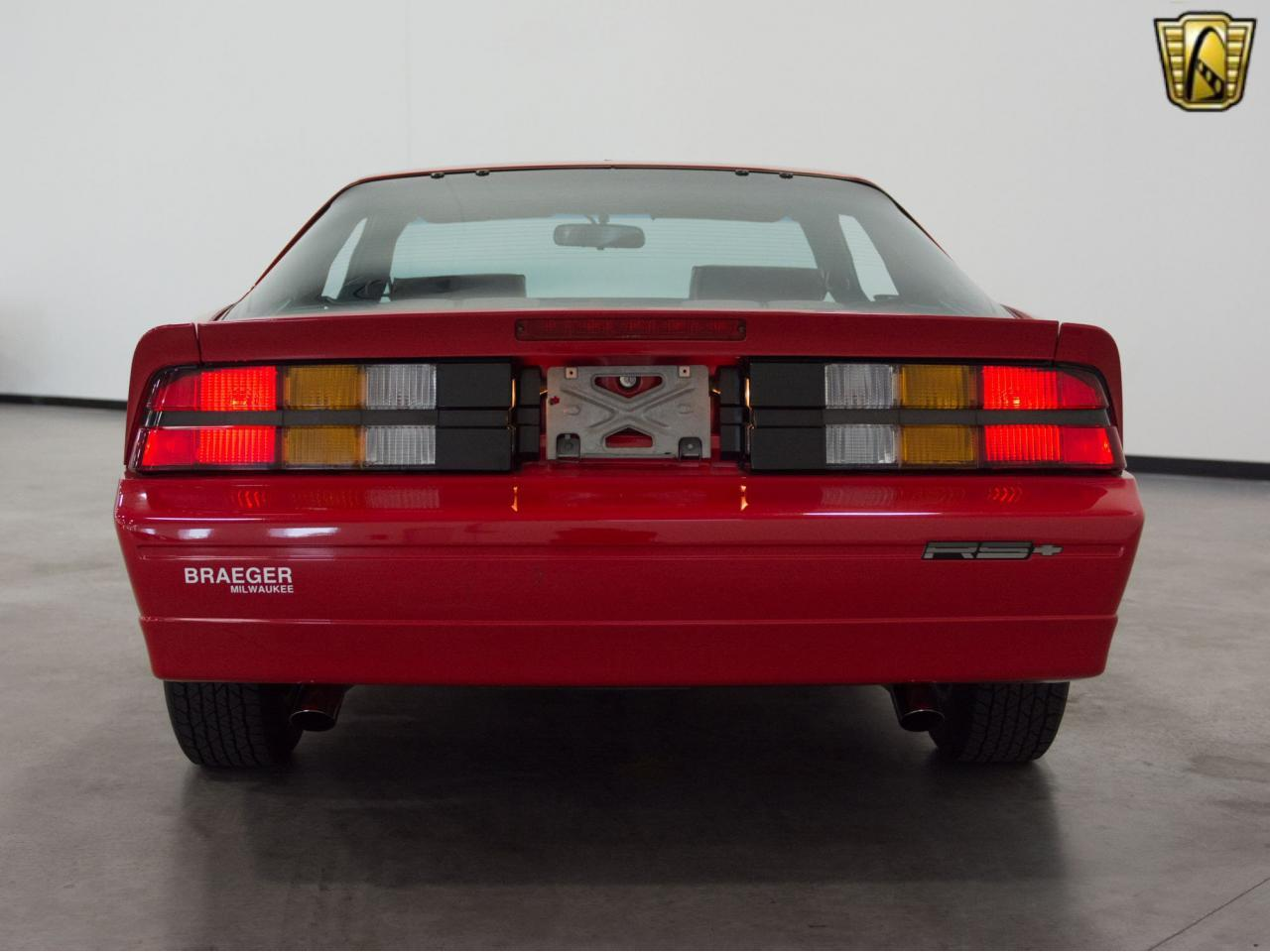 Large Picture of '89 Chevrolet Camaro located in Wisconsin - KE4I