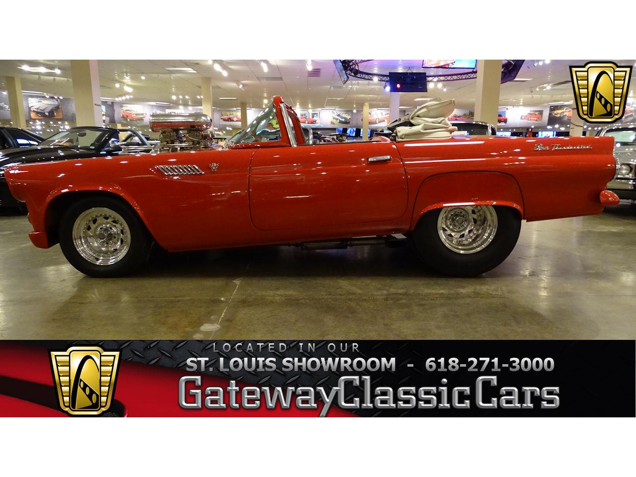 Large Picture of Classic 1955 Thunderbird located in O'Fallon Illinois Offered by Gateway Classic Cars - St. Louis - KE56