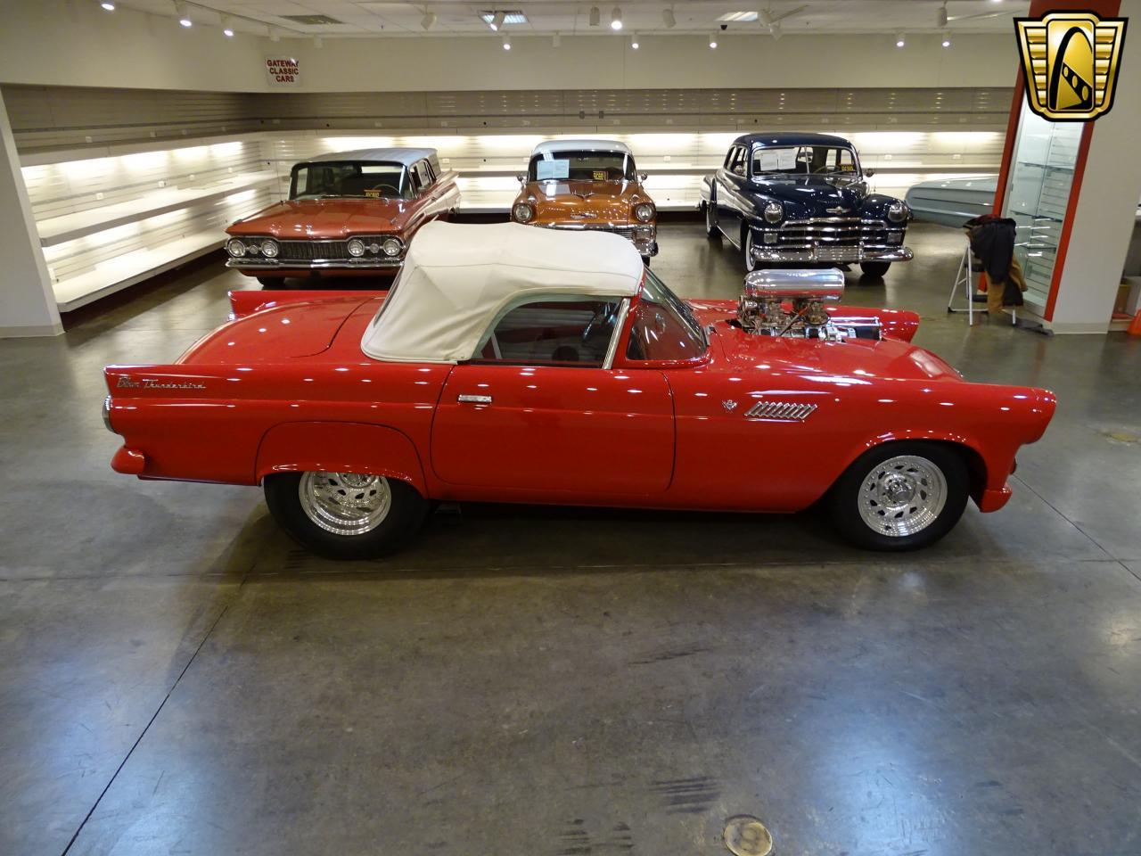 Large Picture of Classic '55 Ford Thunderbird located in Illinois Offered by Gateway Classic Cars - St. Louis - KE56