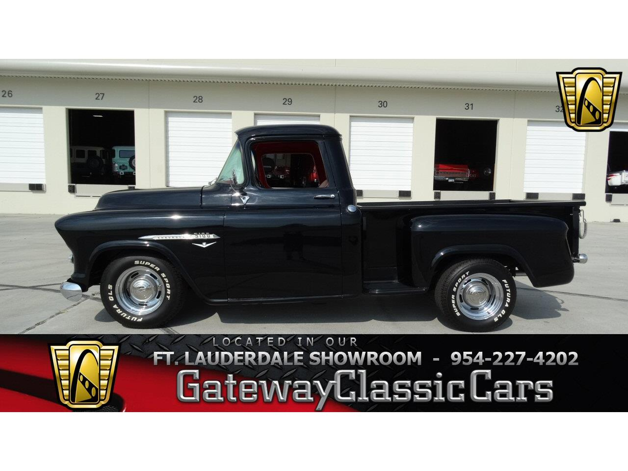 Large Picture of '55 Chevrolet 3100 located in Coral Springs Florida Offered by Gateway Classic Cars - Fort Lauderdale - KEEE