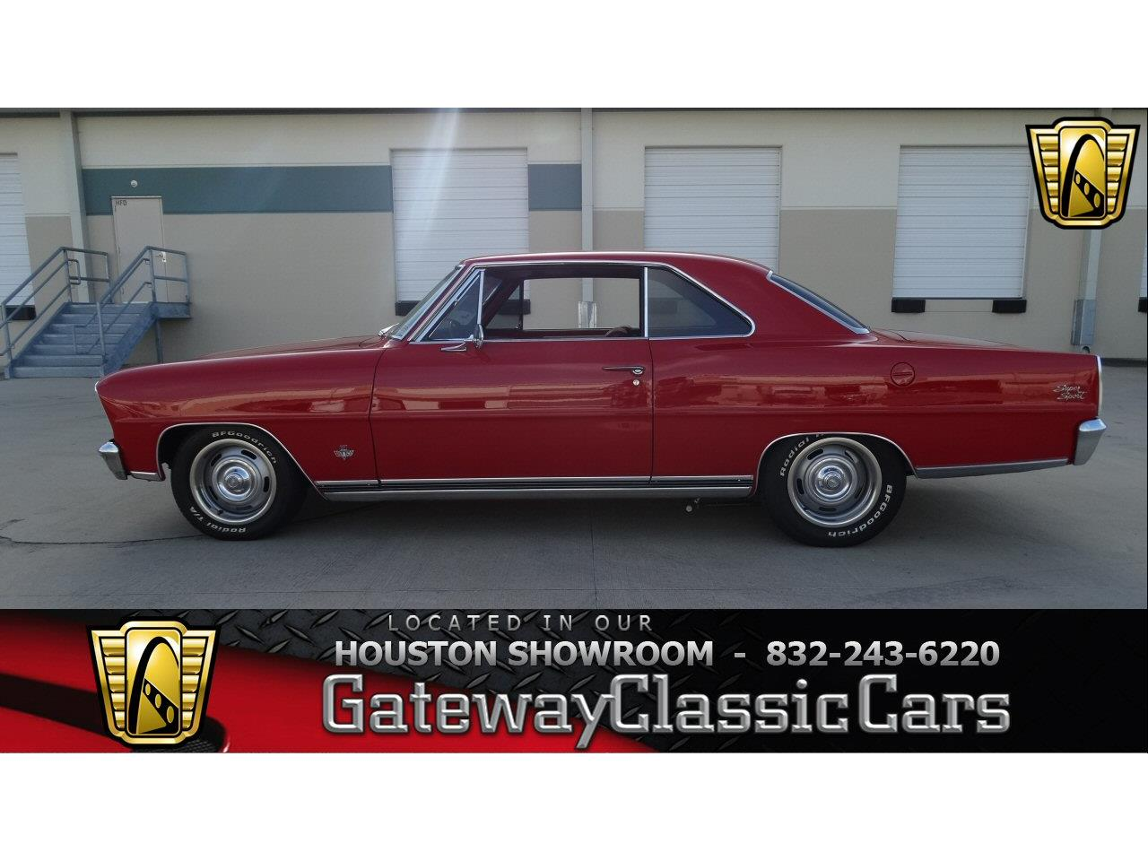 Large Picture of 1966 Nova located in Houston Texas - $50,000.00 Offered by Gateway Classic Cars - Houston - KEGQ