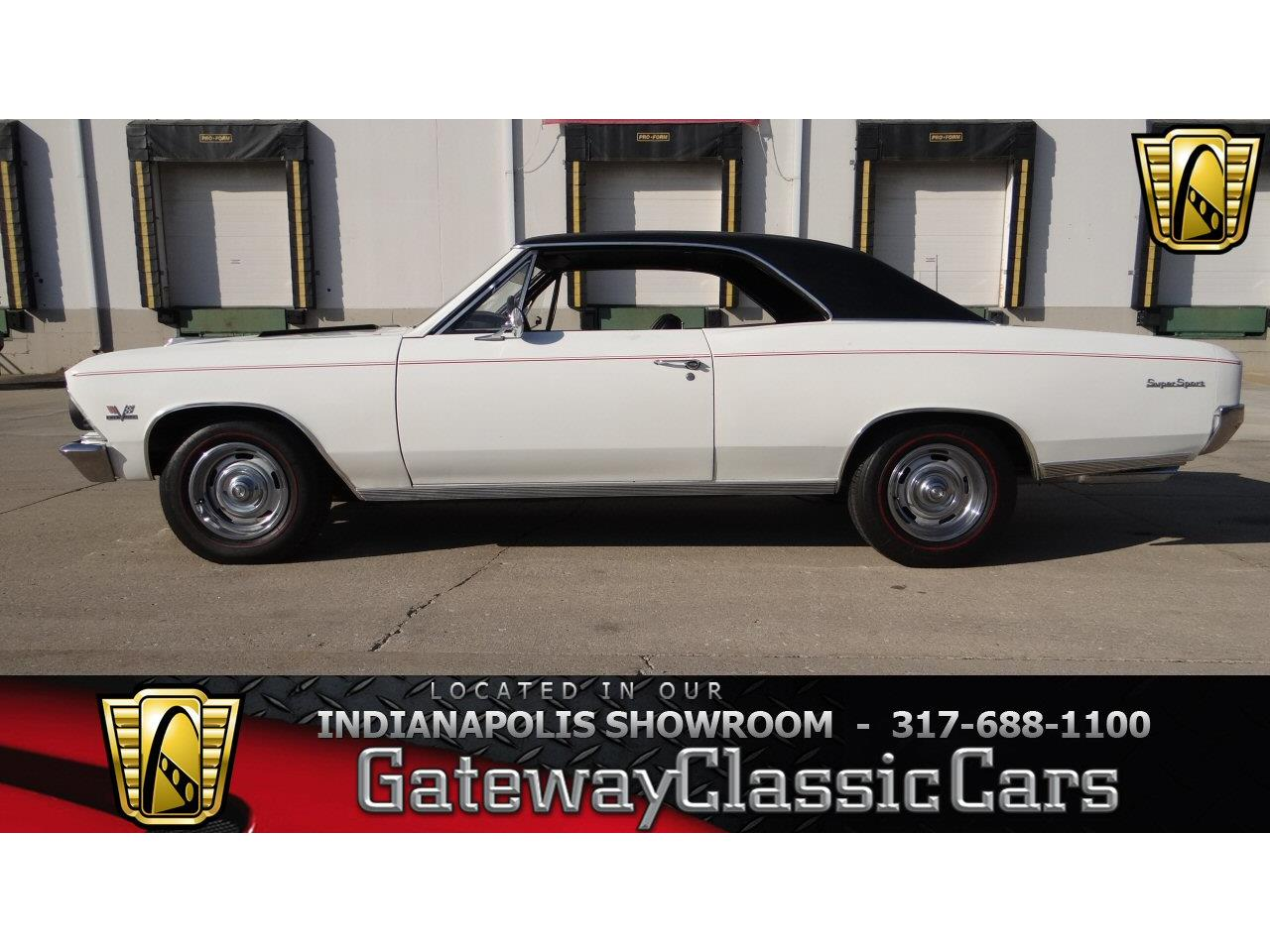 Large Picture of Classic '66 Chevelle located in Indianapolis Indiana - $28,595.00 Offered by Gateway Classic Cars - Indianapolis - KEHO