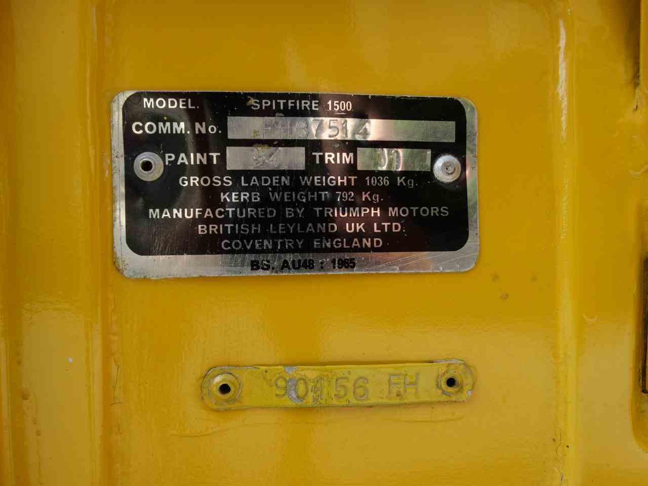 Large Picture of '77 Spitfire - KENJ