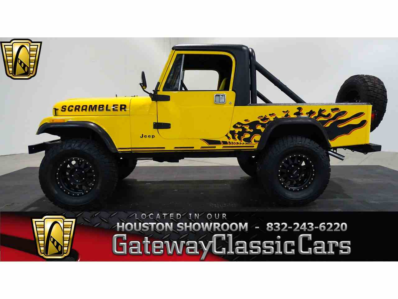 Large Picture of 1985 CJ8 Scrambler located in Houston Texas - KEST