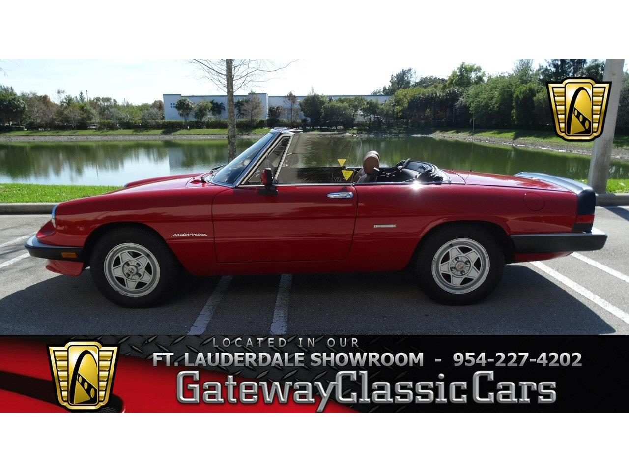 1990 Alfa Romeo 2000 Spider Veloce For Sale Cc Springs Large Picture Of Located In Coral Florida Offered By