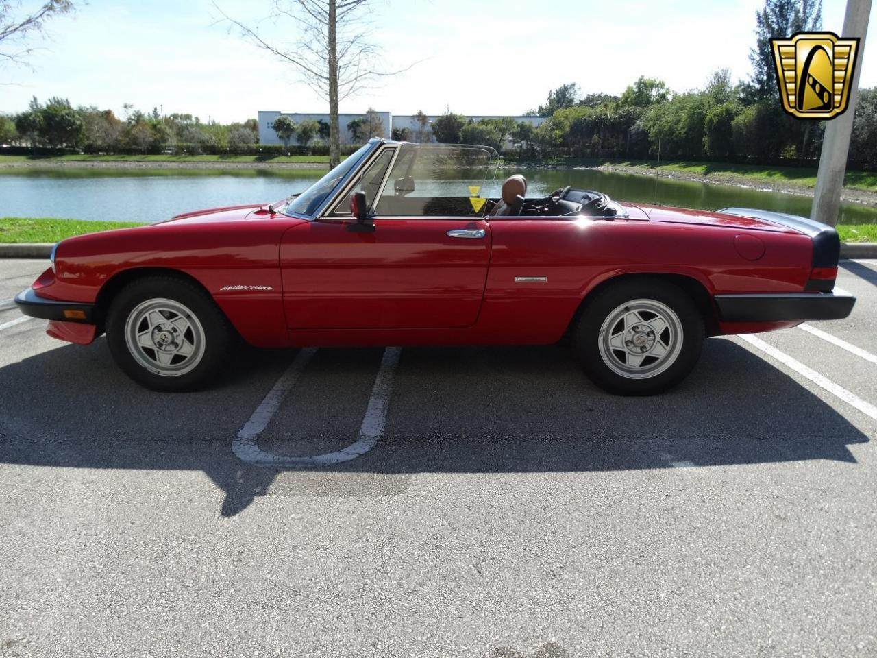 1990 Alfa Romeo 2000 Spider Veloce For Sale Cc Springs Large Picture Of 90 Located In Florida 1259500