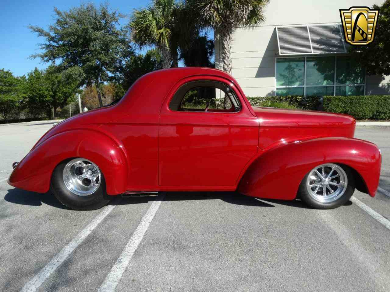 Large Picture of 1941 Willys Coupe located in Coral Springs Florida Offered by Gateway Classic Cars - Fort Lauderdale - KEYP