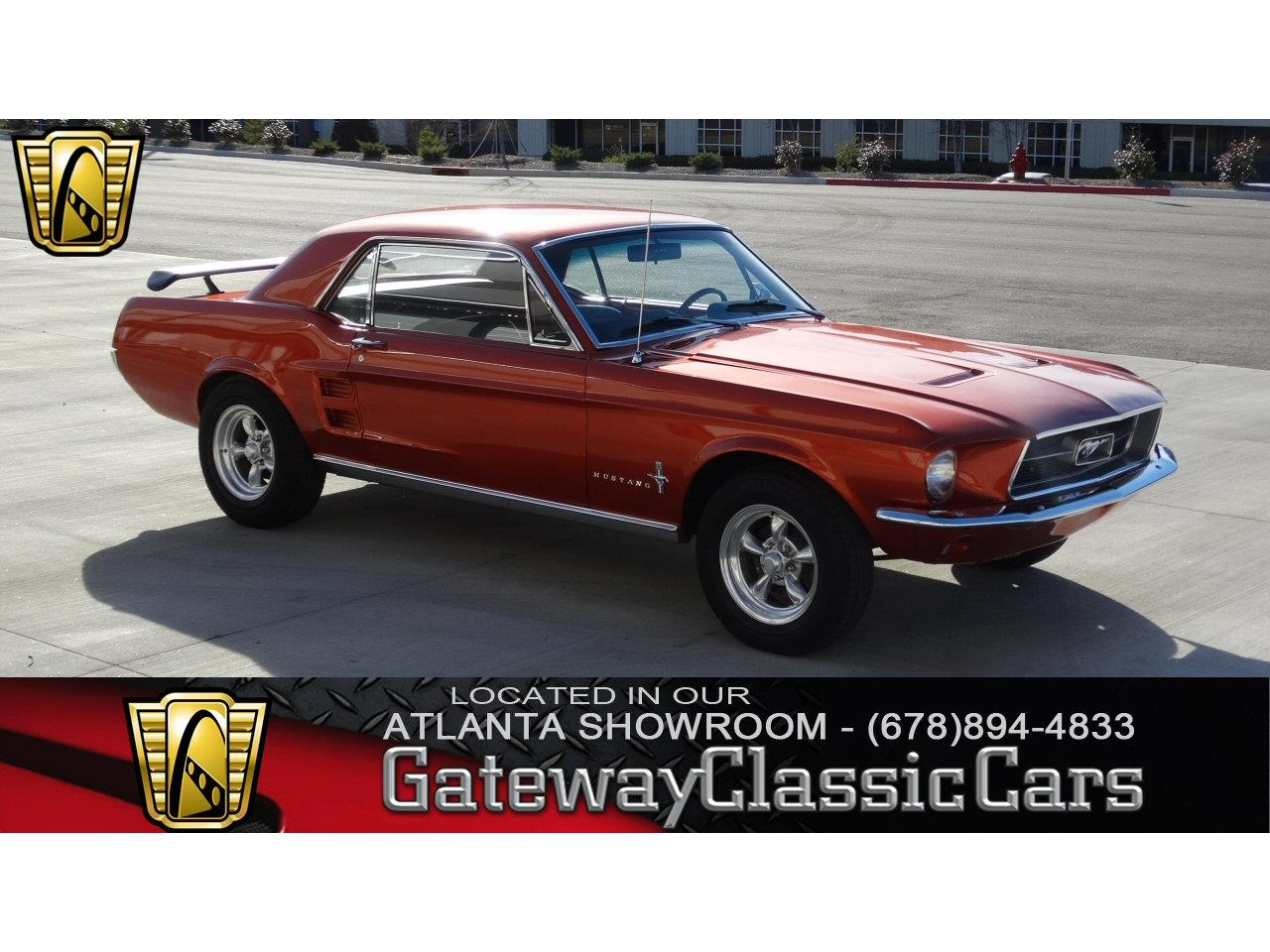 Large Picture of '67 Ford Mustang Offered by Gateway Classic Cars - Atlanta - KF5L