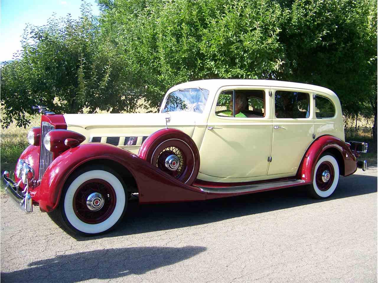 1935 packard super eight for sale cc 952963. Black Bedroom Furniture Sets. Home Design Ideas
