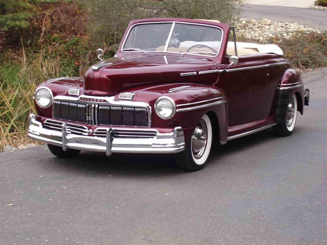 1947 mercury convertible for sale cc 954813. Black Bedroom Furniture Sets. Home Design Ideas