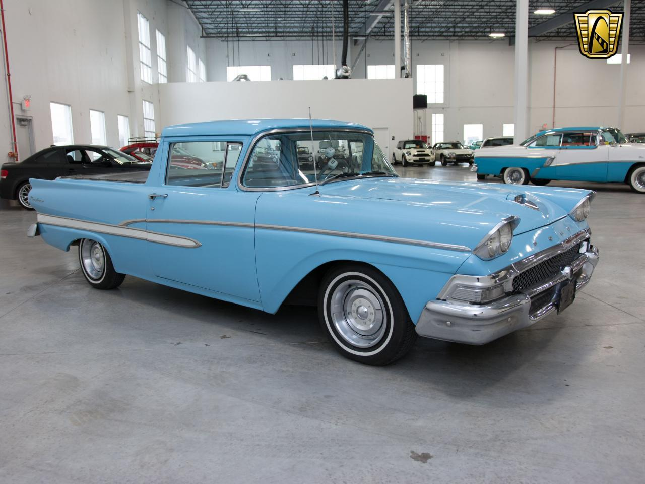 Large Picture of Classic 1958 Ranchero located in Kenosha Wisconsin Offered by Gateway Classic Cars - Milwaukee - KH0V