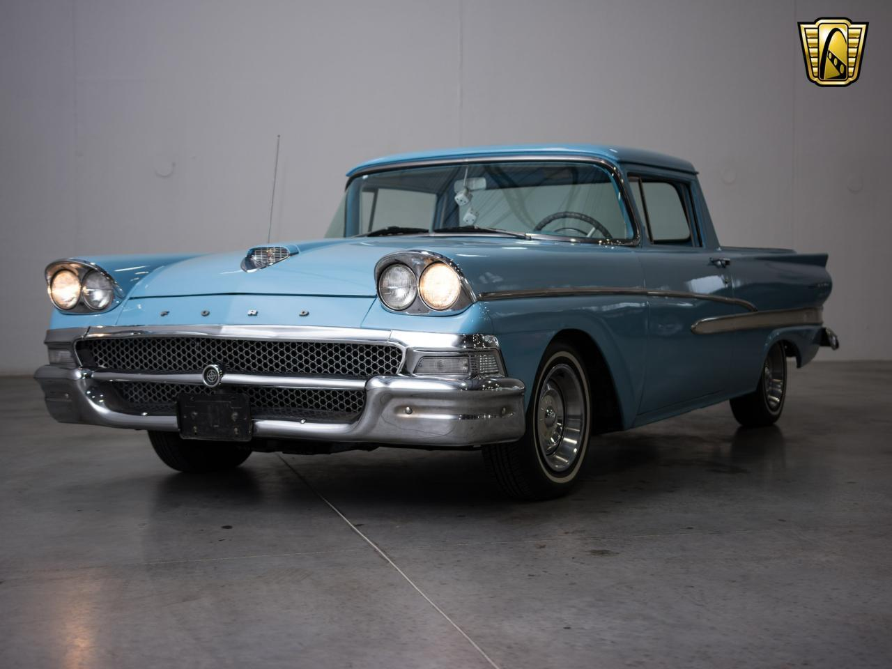 Large Picture of Classic 1958 Ford Ranchero located in Kenosha Wisconsin - $20,995.00 Offered by Gateway Classic Cars - Milwaukee - KH0V
