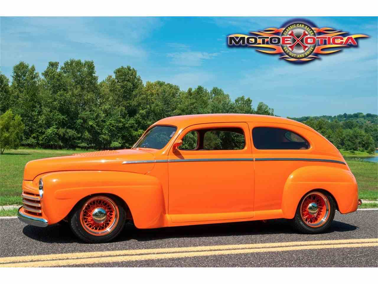 Large Picture of Classic '48 Ford Custom Auction Vehicle Offered by MotoeXotica Classic Cars - KH4N
