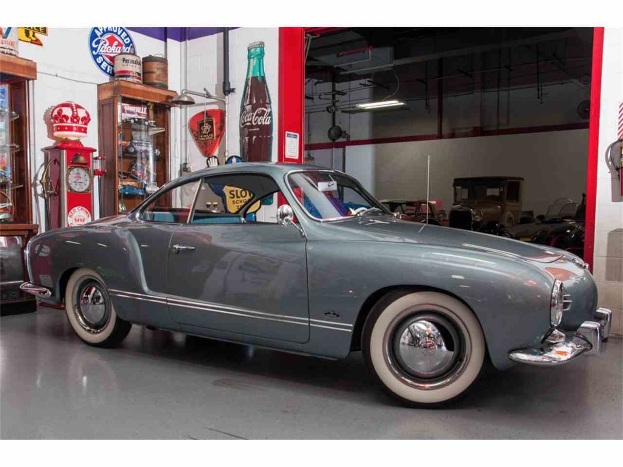 1957 Volkswagen Karmann Ghia For Sale Classiccars Com