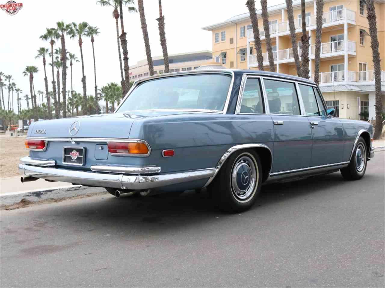 1972 mercedes benz 600 for sale cc 955377 for Mercedes benz marina del rey