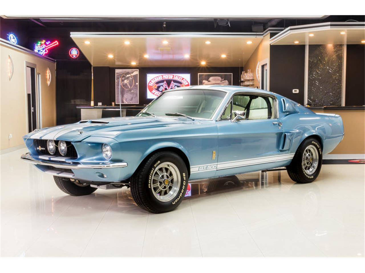 Large picture of 67 mustang fastback shelby gt500 recreation kh6o
