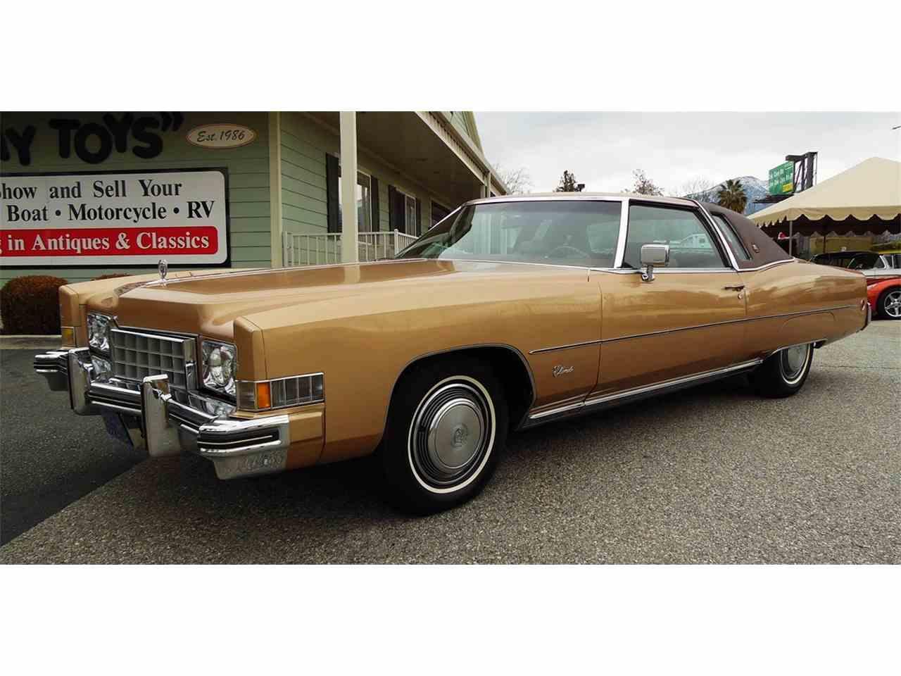 1973 Cadillac Eldorado for Sale | ClicCars.com | CC-955446