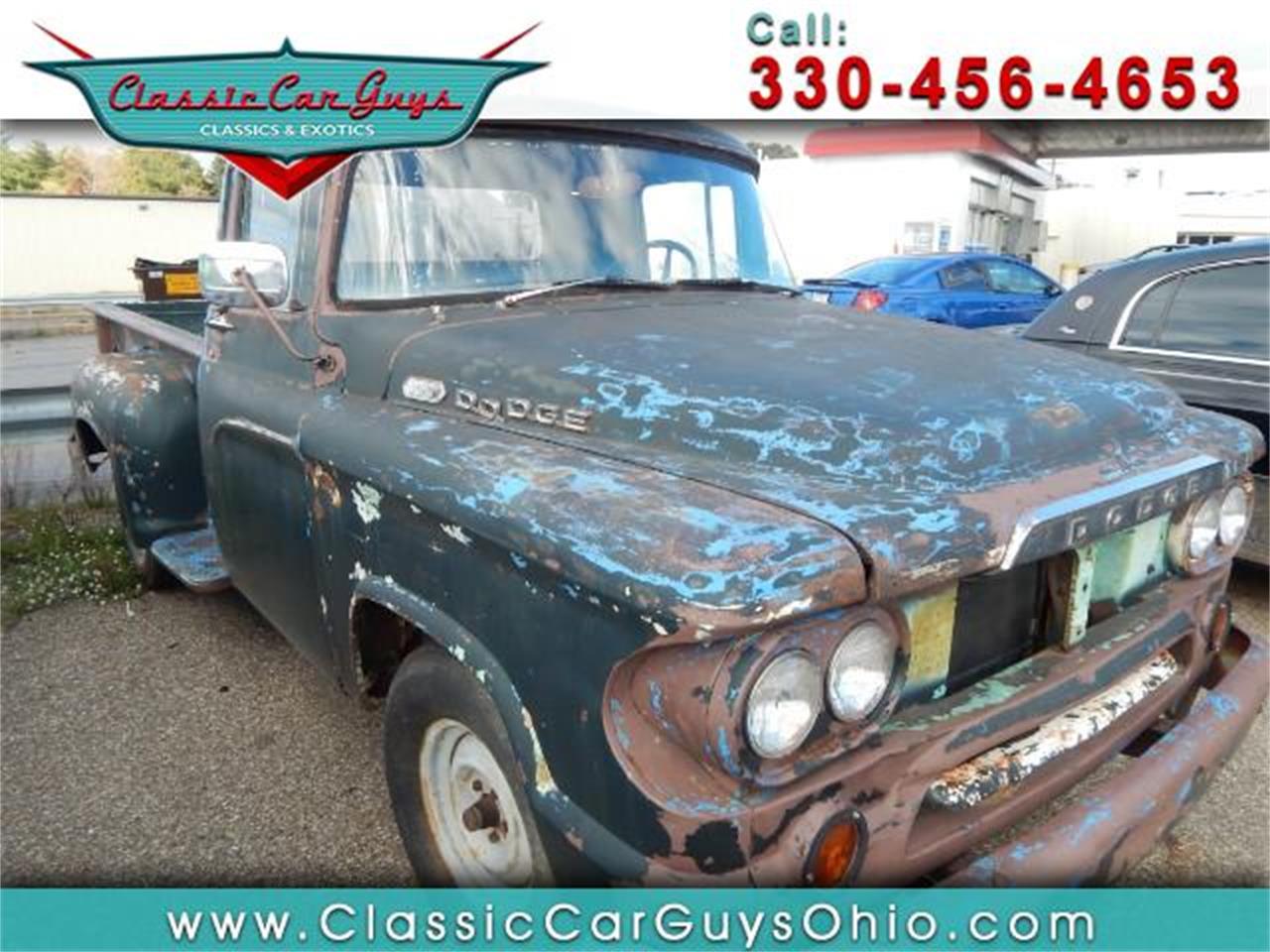 1960 Dodge Pickup For Sale Classiccars Com Cc 955751
