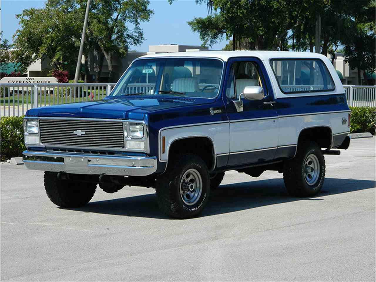 1980 Chevrolet Blazer For Sale Classiccars Com Cc 955779