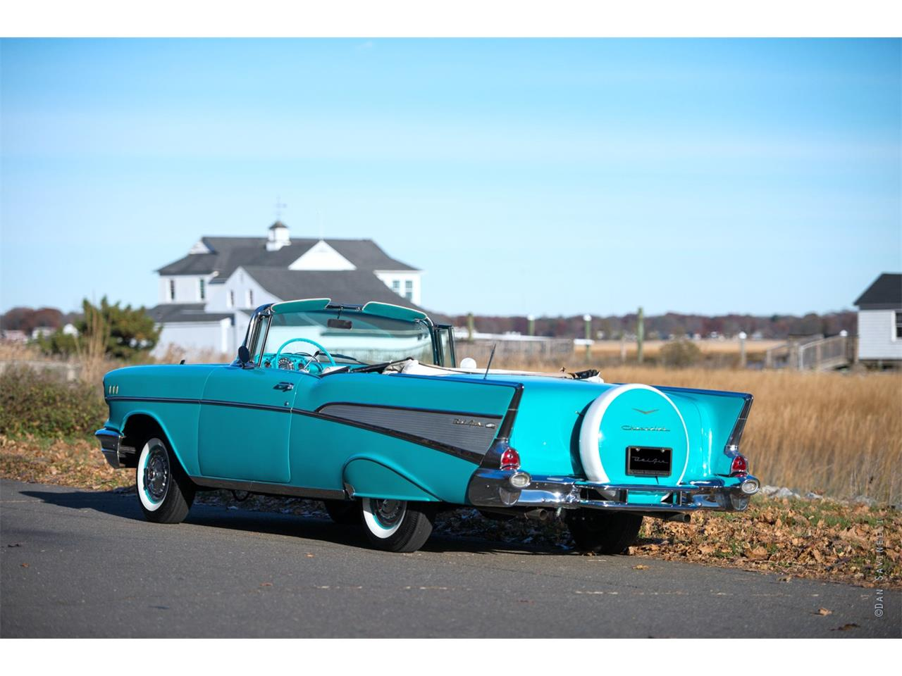 Large Picture of '57 Chevrolet Bel Air located in Connecticut Offered by Black Horse Garage - KDHZ