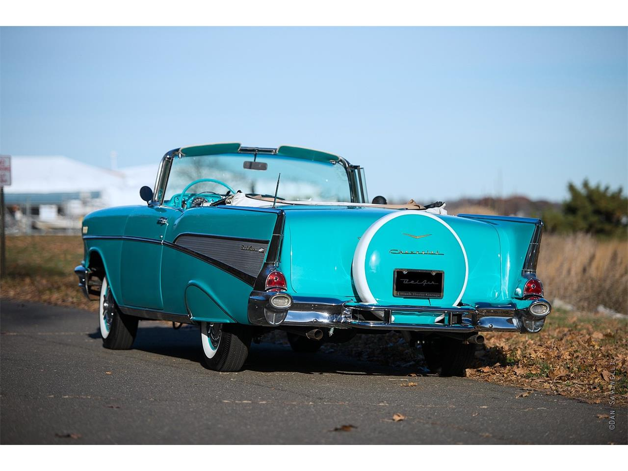 Large Picture of '57 Chevrolet Bel Air located in Bridgeport Connecticut Offered by Black Horse Garage - KDHZ