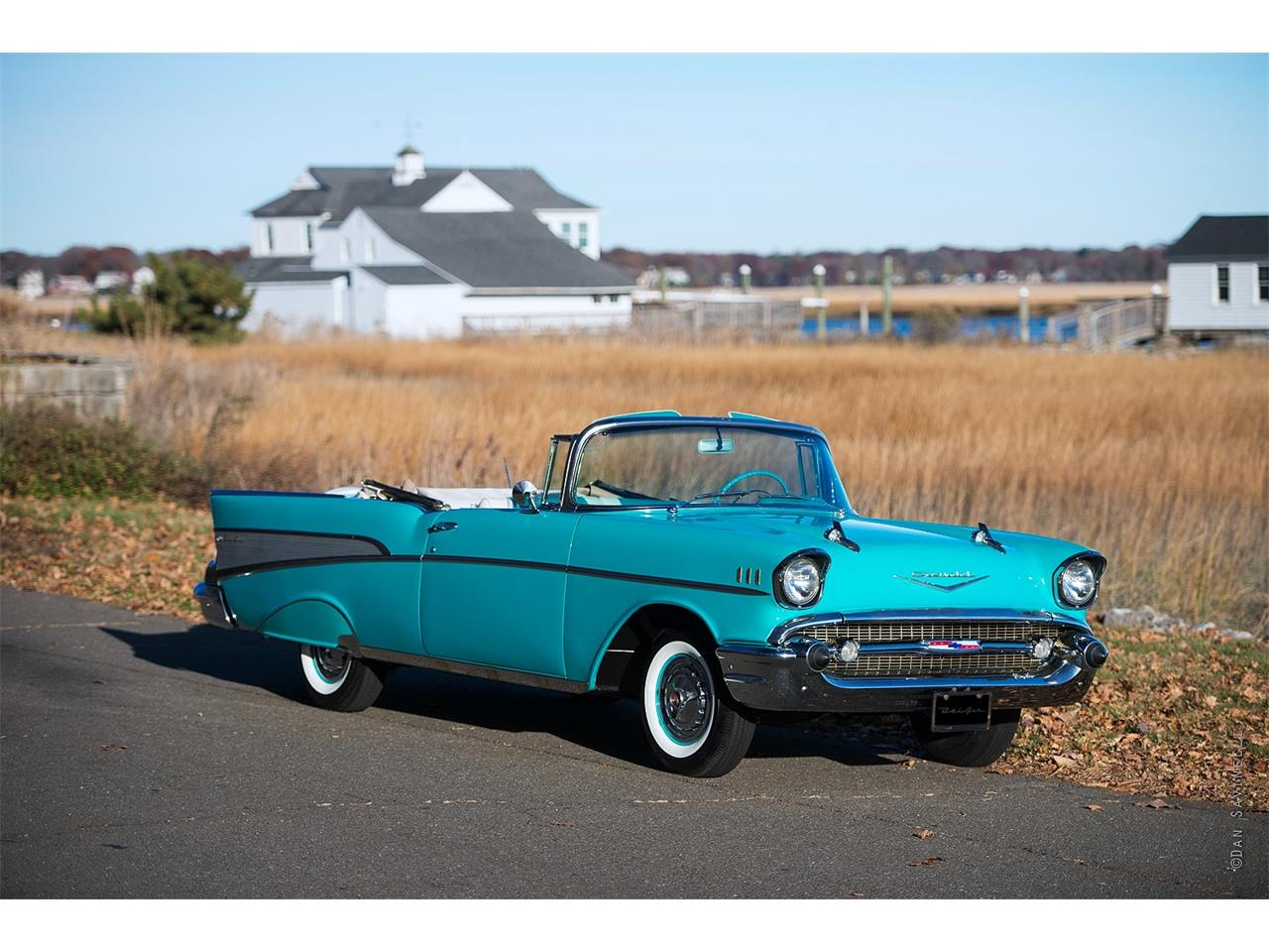 Large Picture of 1957 Chevrolet Bel Air - $75,000.00 Offered by Black Horse Garage - KDHZ