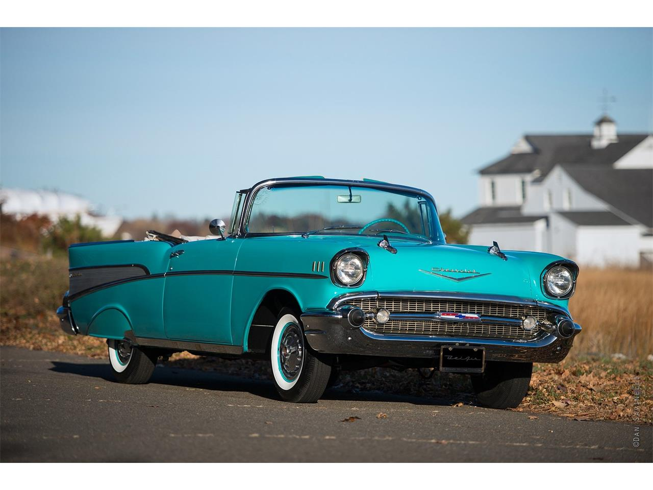 Large Picture of Classic '57 Chevrolet Bel Air located in Connecticut Offered by Black Horse Garage - KDHZ
