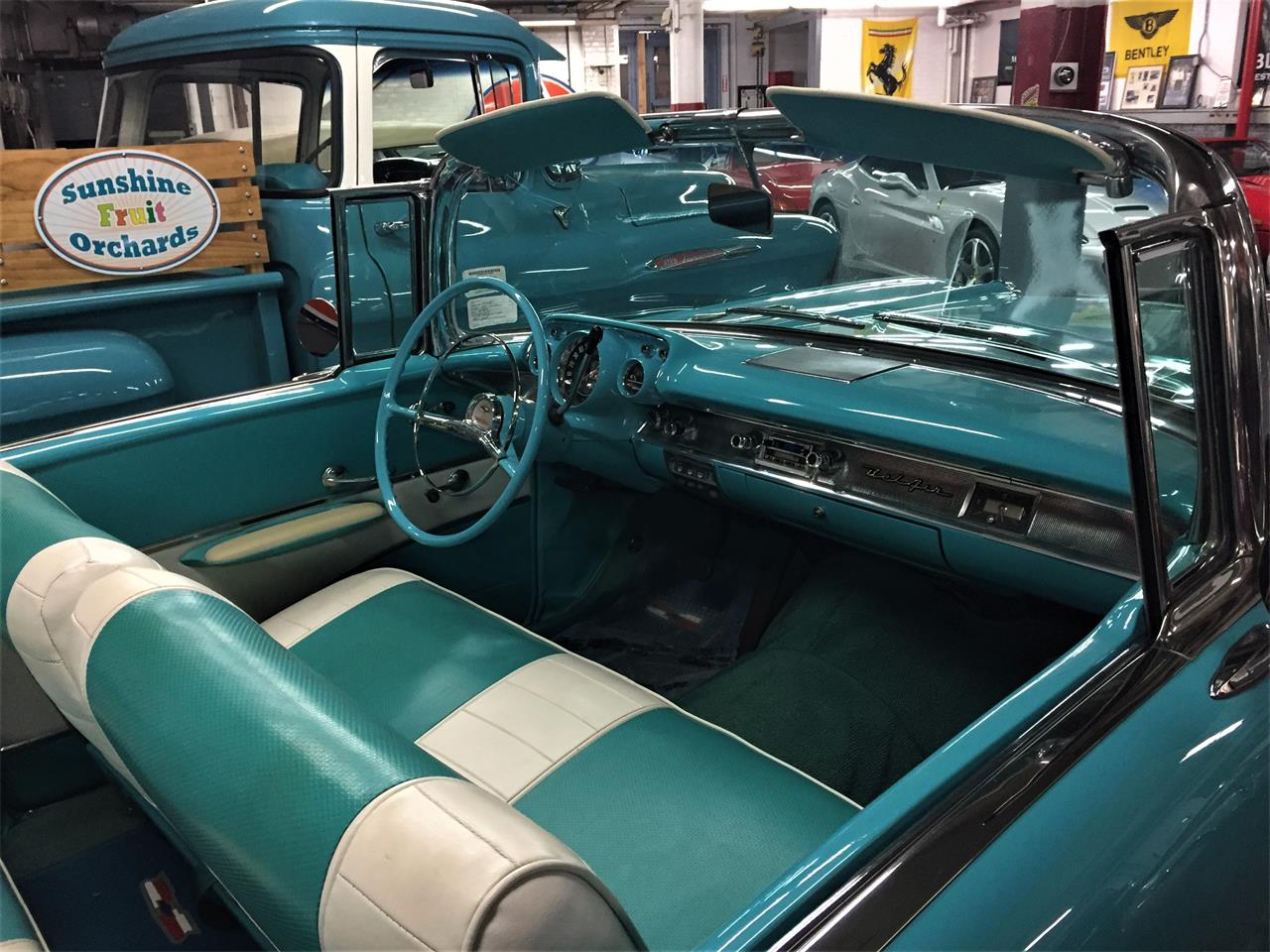 Large Picture of 1957 Chevrolet Bel Air located in Bridgeport Connecticut - $75,000.00 Offered by Black Horse Garage - KDHZ
