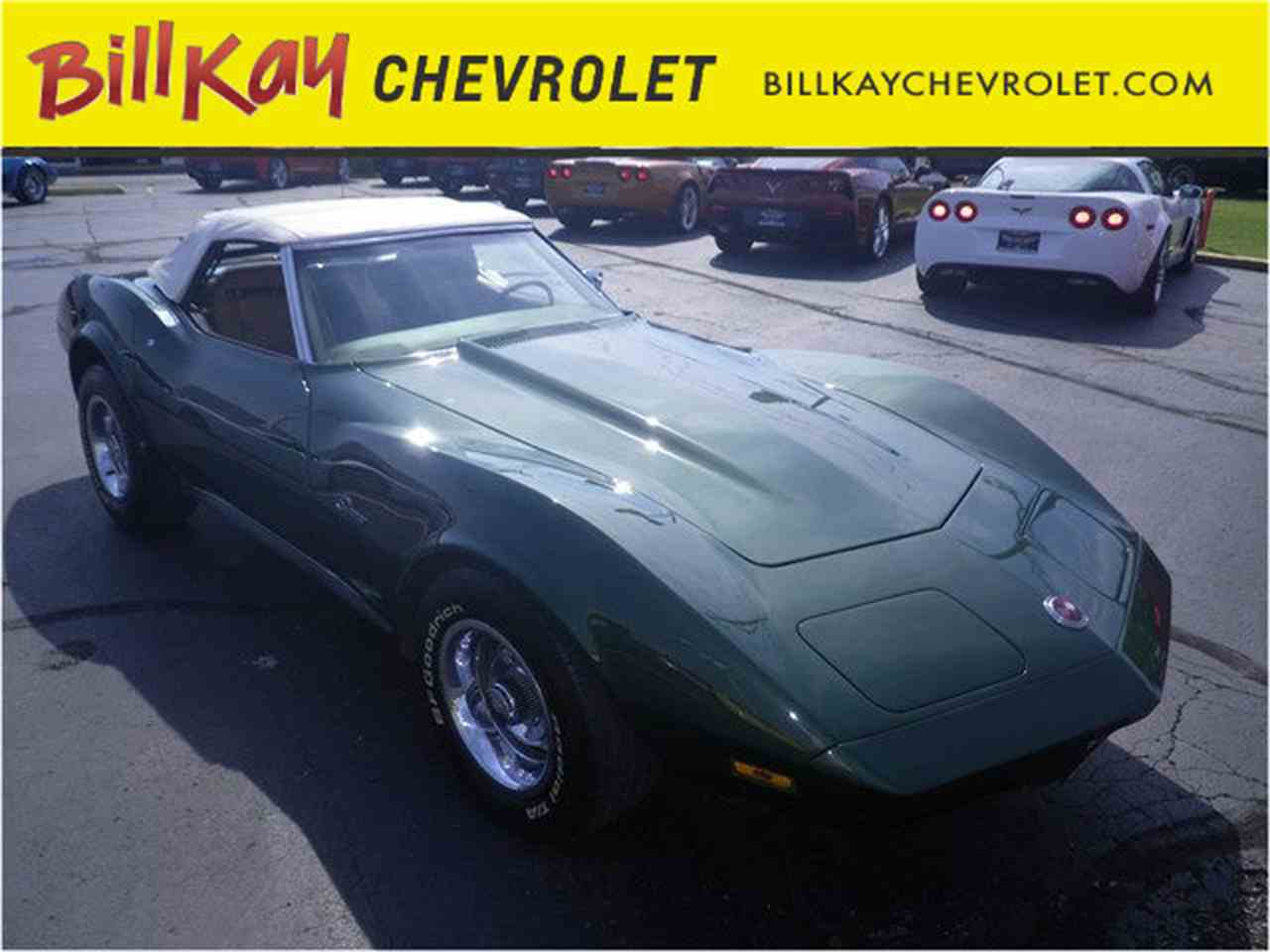 Large Picture of '74 Corvette - KHWS