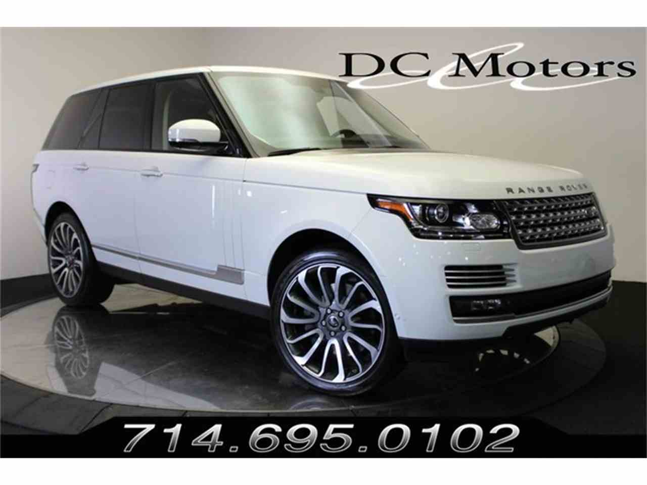 Large Picture of '13 Land Rover Range Rover - $73,888.00 Offered by DC Motors - KHXU