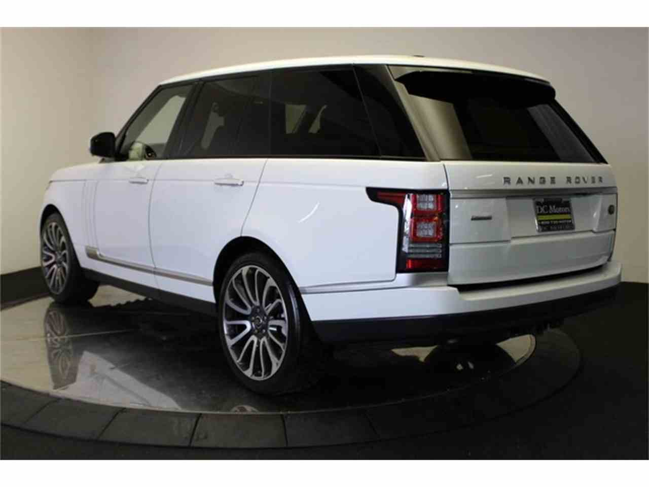 Large Picture of 2013 Land Rover Range Rover located in California Offered by DC Motors - KHXU