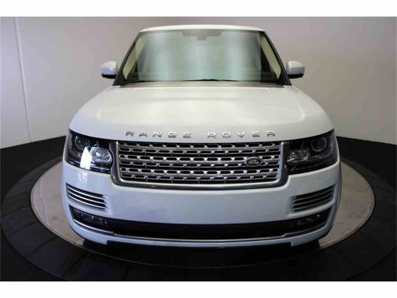 Large Picture of 2013 Land Rover Range Rover located in California - $73,888.00 - KHXU
