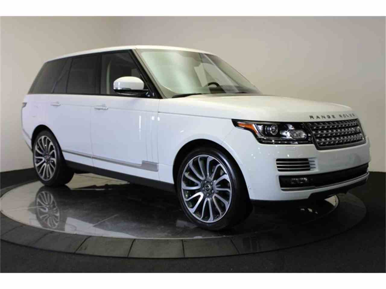 Large Picture of 2013 Land Rover Range Rover located in Anaheim California Offered by DC Motors - KHXU